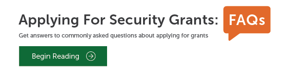 Security grant application frequently asked questions
