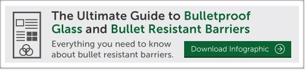 bulletproof glass bullet resistant barriers