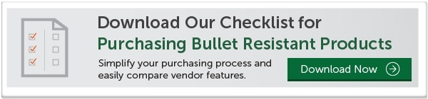 Purchasing Bullet Resistant Products Checklist
