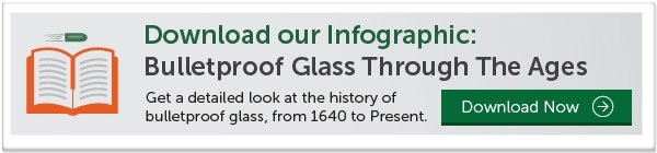 Bulletproof glass history