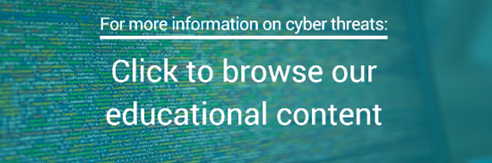 cyber threats content