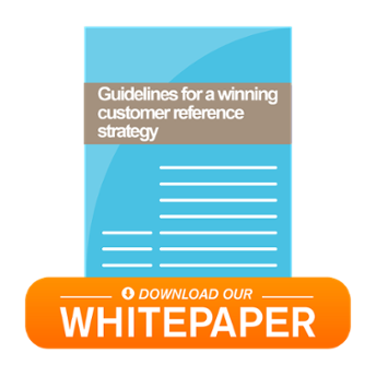 whitepaper winning customer reference program