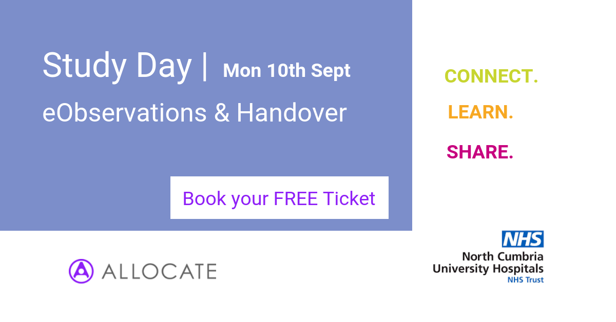 Book your place at the Study Day to learn more about CareHub from one of our customers