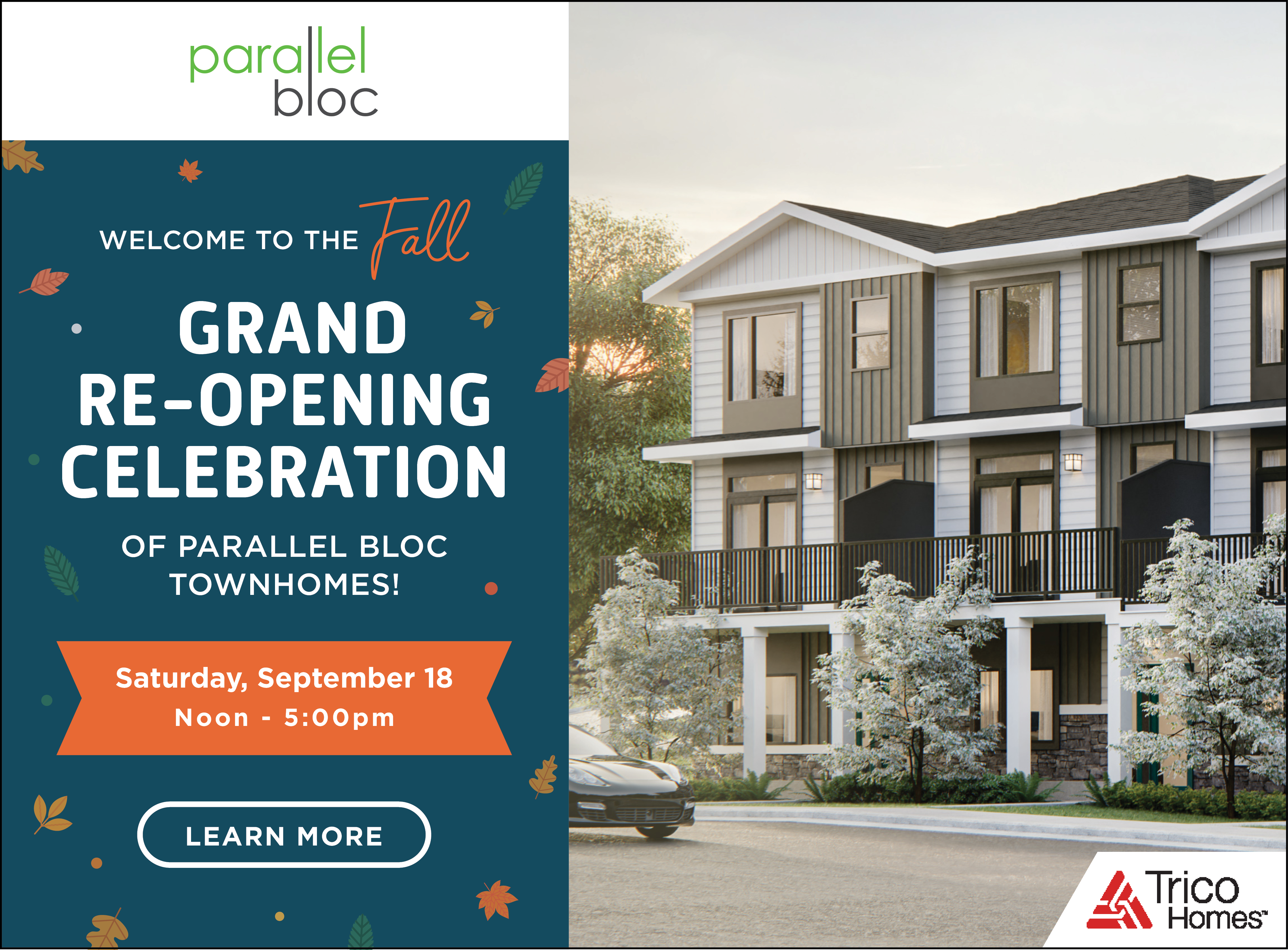 Parallel Bloc Fall Grand Re-Opening Celebration