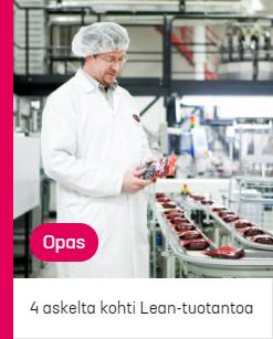 4 askelta kohti Lean-tuotantoa