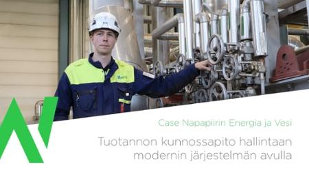 Lataa case Neve: Tuotannon kunnossapito hallintaan modernin järjestelmän avulla