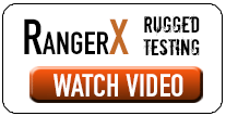 Watch the rugged RangerX tablet get tested.