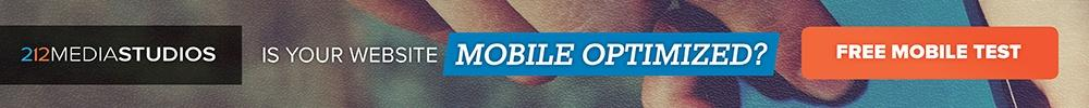 Mobile Optimized Website Banner CTA
