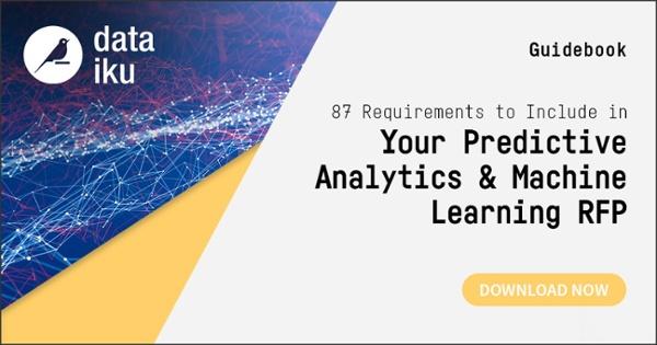 predictive analytics and ML