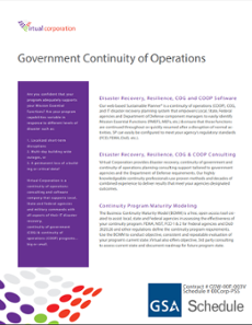 Government Continuity of Operations