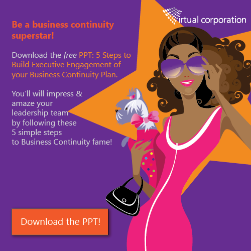 PPT: 5 Steps to Build Executive Buyin of BCM