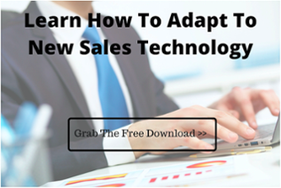 How to adapt to new sales technology