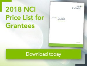 2018 NCI price list for grantees - Download today
