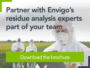 [Brochure] Partner with Envigo's residue analysis experts part of your team