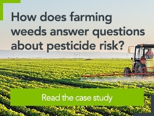 [Case study] How does farming weeds answer questions about pesticide risk?