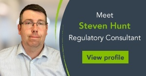 Meet Steven Hunt, Regulatory Consultant