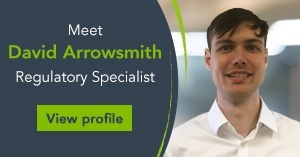 Meet David Arrowsmith, Regulatory Specialist
