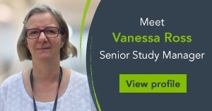 Meet Vanessa Ross, Senior Study Manager