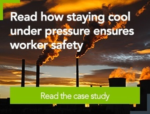 [Case study] Read how staying cool under pressure ensures worker safety