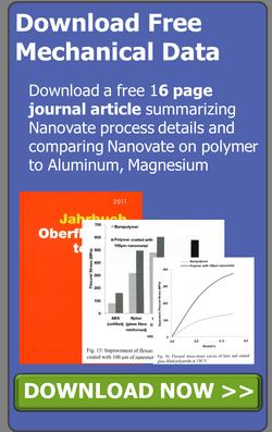 Nanovate Nanometal Polymer Hybrids for lightweight high strength applications