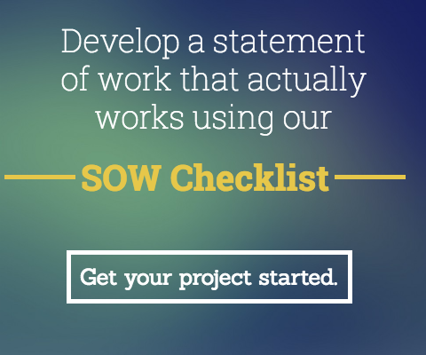 Statement of Work Checklist- statement of work template to start your next project