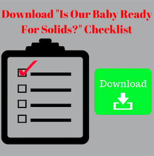 Plan for deciding if your toddler is ready for solids