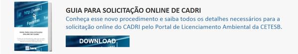 CTA - Guia para Solicitação Online de CADRI
