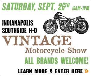 2015 ISSHD Vintage Motorcycle Show