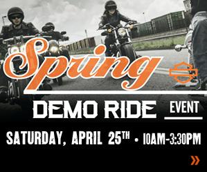 Harley Davidson demo rides