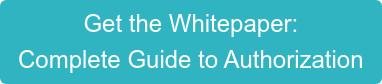 Get the Whitepaper:  Complete Guide to Authorization