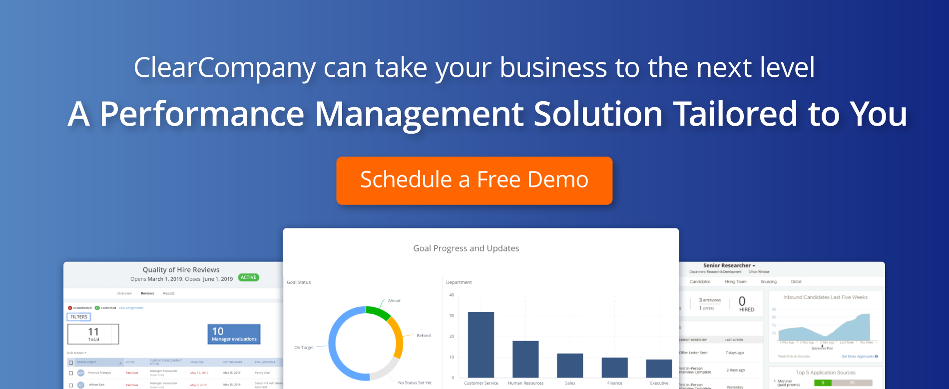 Performance Management Solution Tailored to You