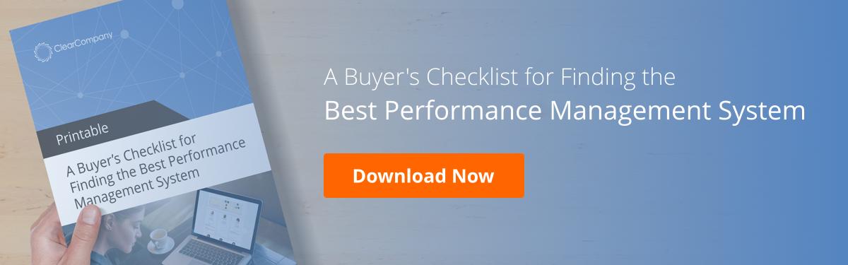 performance management system checklist blog CTA