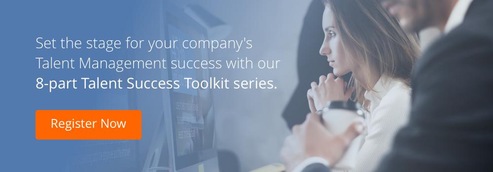 talent success toolkit series registration cta