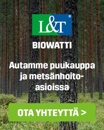 Ota meihin yhteyttä: Autamme puukauppa- ja metsänhoitoasioissa