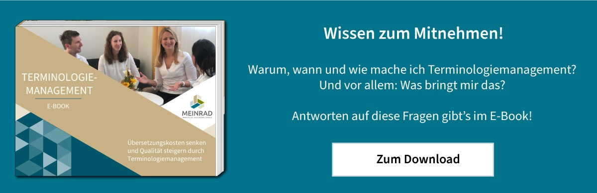 E-Book Terminologiemanagement MEINRAD