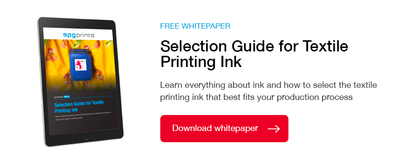 Ink Selection Guide Digital Textile Printing