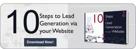 10 Steps to Lead Generation via your Website