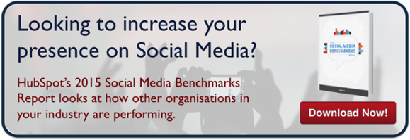 HubSpot 2015 social media benchmarks report