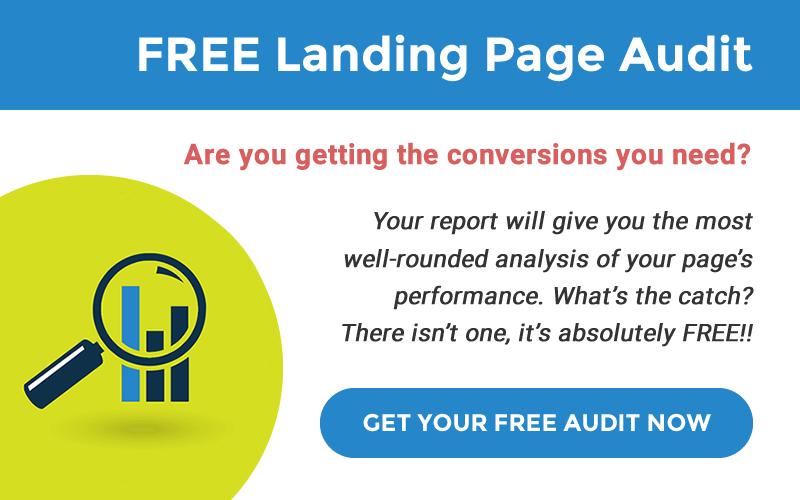 FREE Landing Page Audit