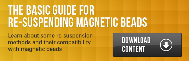 The basic guide for re-suspending magnetic beads