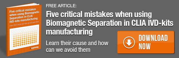 Free guide: 5 critical mistakes when using biomagnetic separation