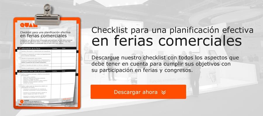 Descargar checklist preparación ferias