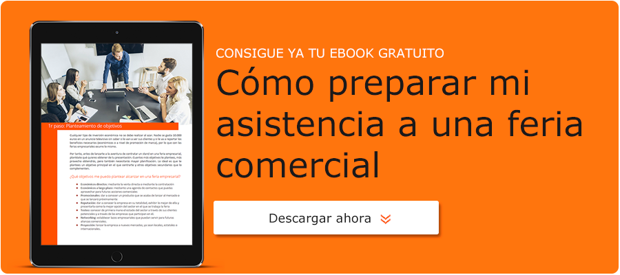 Como preparar mi asistencia a ferias comerciales - Ebook