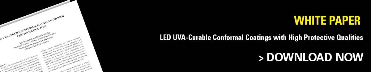 HumiSeal White Paper: LED UVA Curable Conformal Coatings