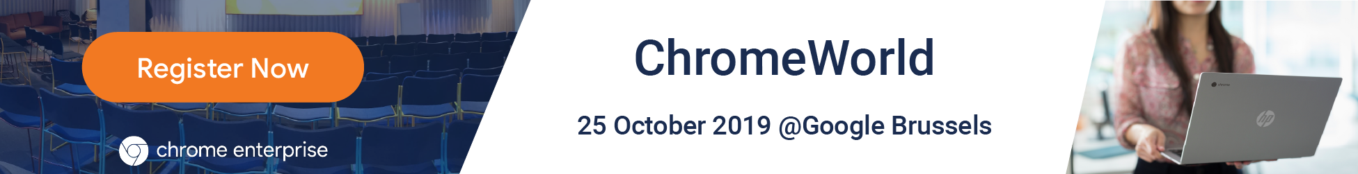 ChromeWorld Brussels 25 October 2019