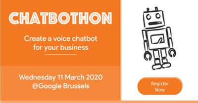 Chatbothon Google Brussels
