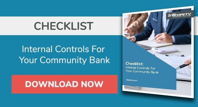 Checklist: Internal controls for your community bank PDF