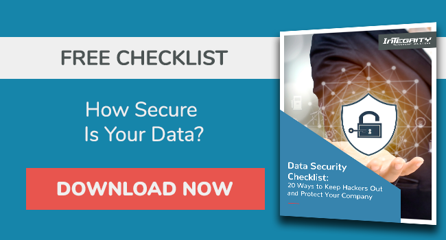 Free Data Security Checklist
