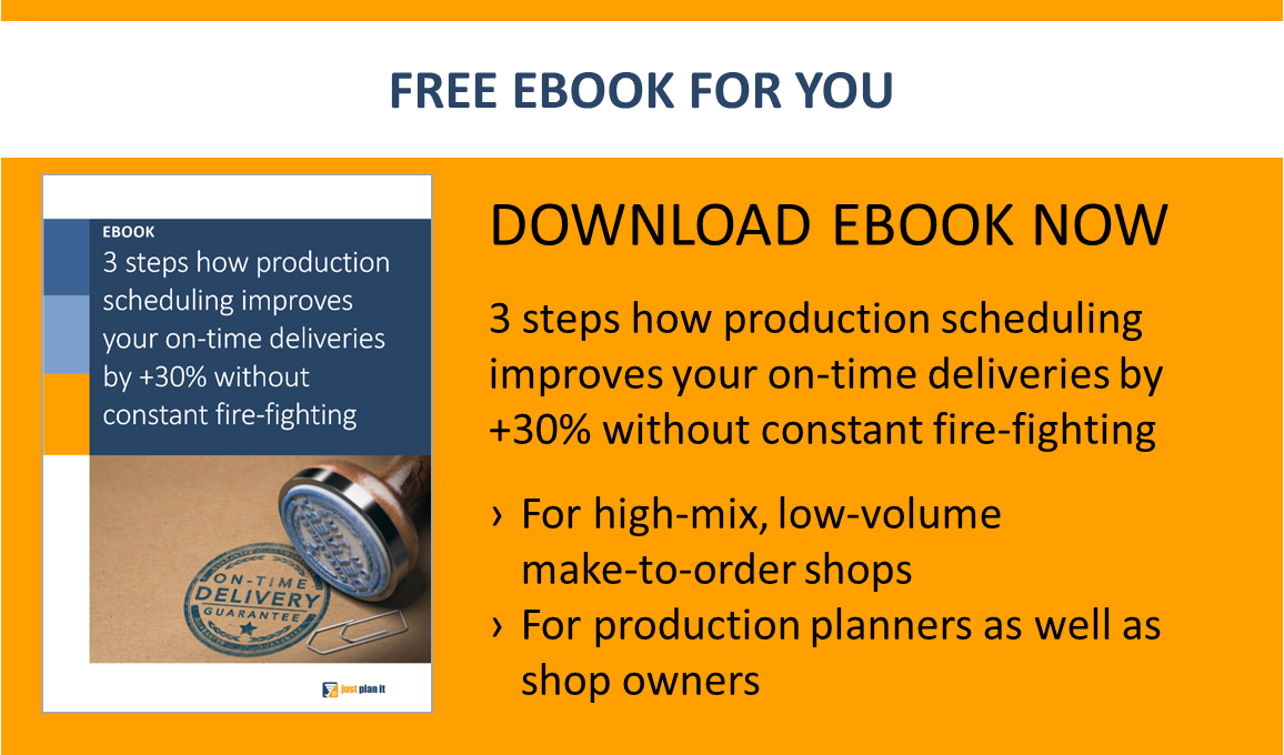 Download your free production scheduling ebook
