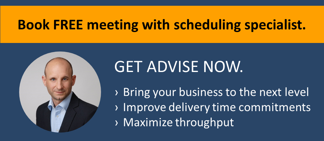 Book free 60-minutes meeting with scheduling specialist